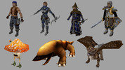 Thumbnail Fantasy Characters Game Assets